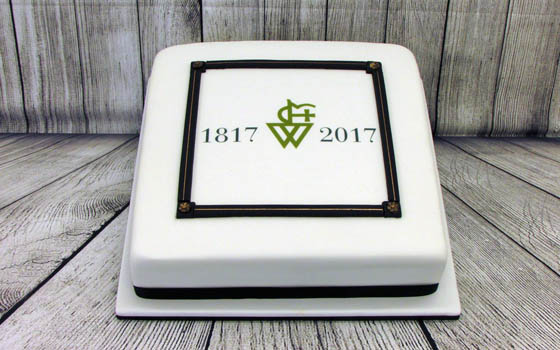 The Cake Forge Salisbury Wiltshire corporate promotion cake